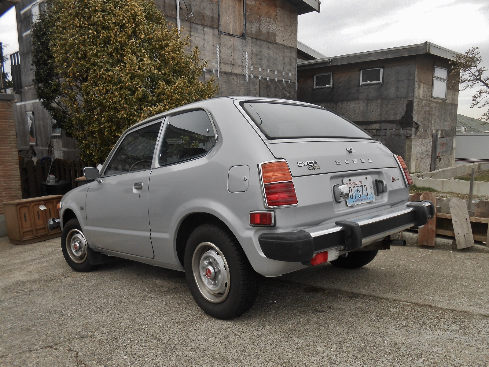Seattle 39 s parked cars 1978 honda civic cvcc for 1978 honda civic