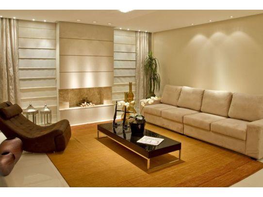 decoracao de interiores cortinas para sala:esta parede mede 8,90m sendo mais ou menos metade para cada função