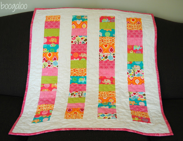 Quilt Ideas For Baby Girl : boogaloo: 2 baby quilts