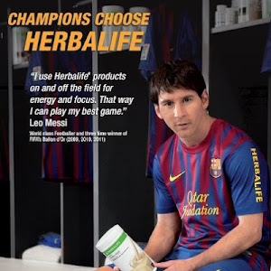 Messi Choose Herbalife
