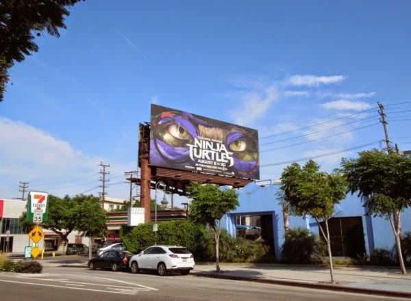 Ninja Turtles Donatelllo mask billboard