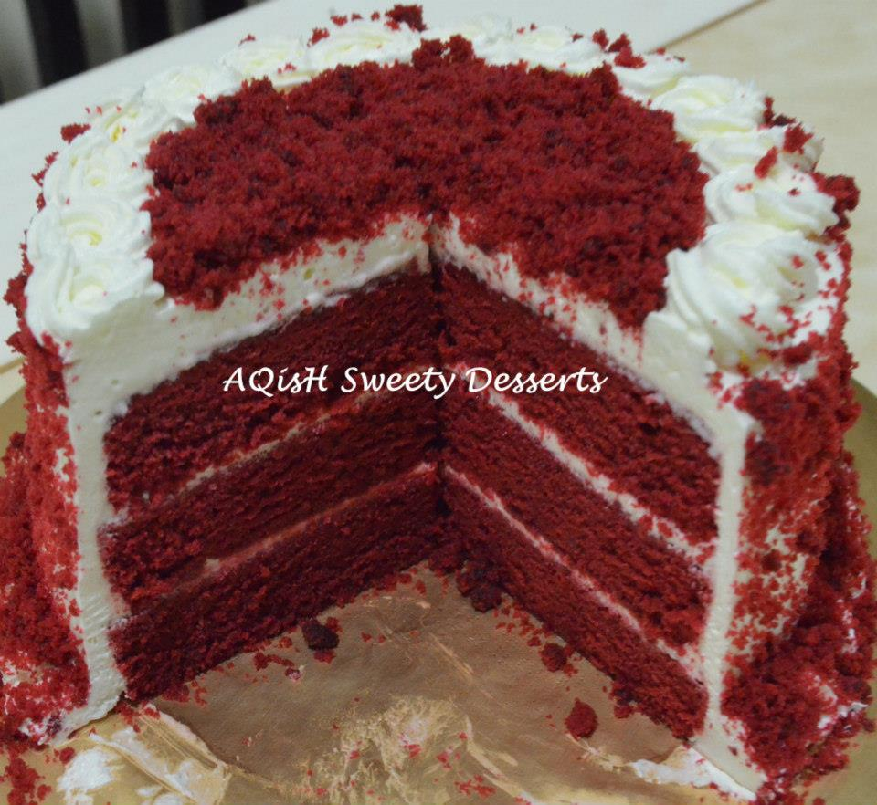 Red Velvet Collections Aqish Sweety Desserts
