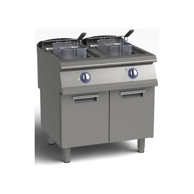 Freestanding Gas And Electric Deep Fryer