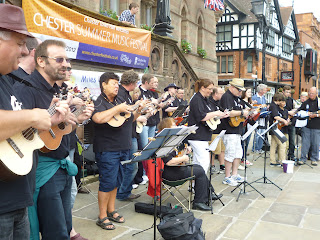 the full chester ukulele ensemble