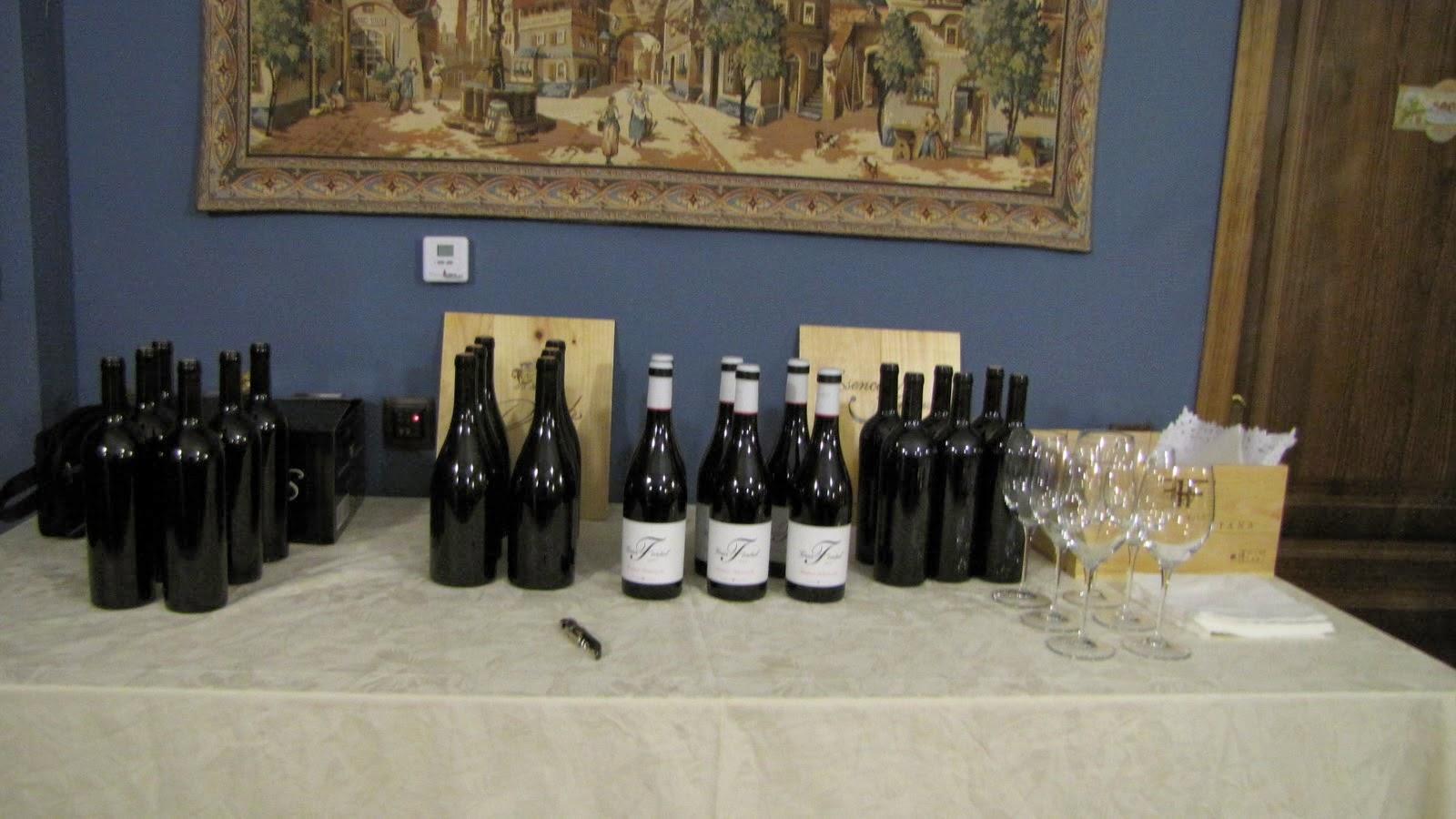 Cata de vinos en Hospedería Ballesteros
