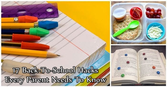 17 Back-To-School Hacks Every Parent Needs To Know