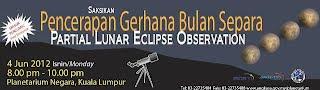 Planetarium Negara Anjur Pencerapan Gerhana Bulan Separa