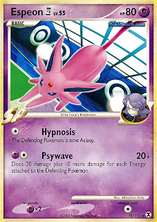 Espeon Pokemon Card Rising Rivals set