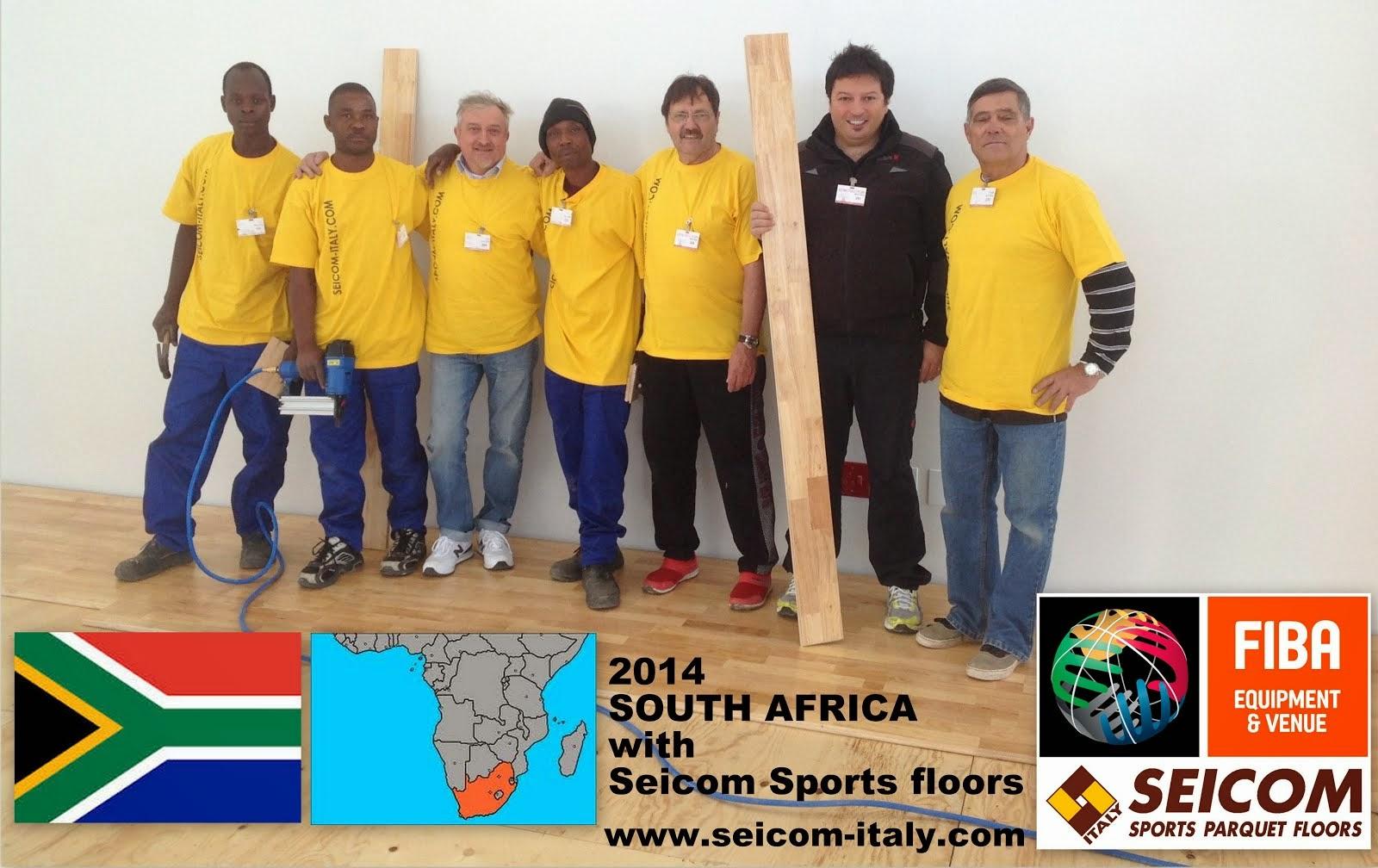 Parquet sportivi in SUDAFRICA