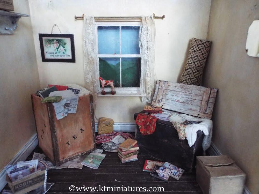 Old Attic Room Scene Workshop At  Denman College