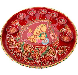 Diwali Pooja Thali Decoration Ideas