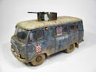 """Croatian armoured UAZ"" 1/35"