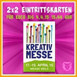 Karten für die Kreativ-Messe in Wels