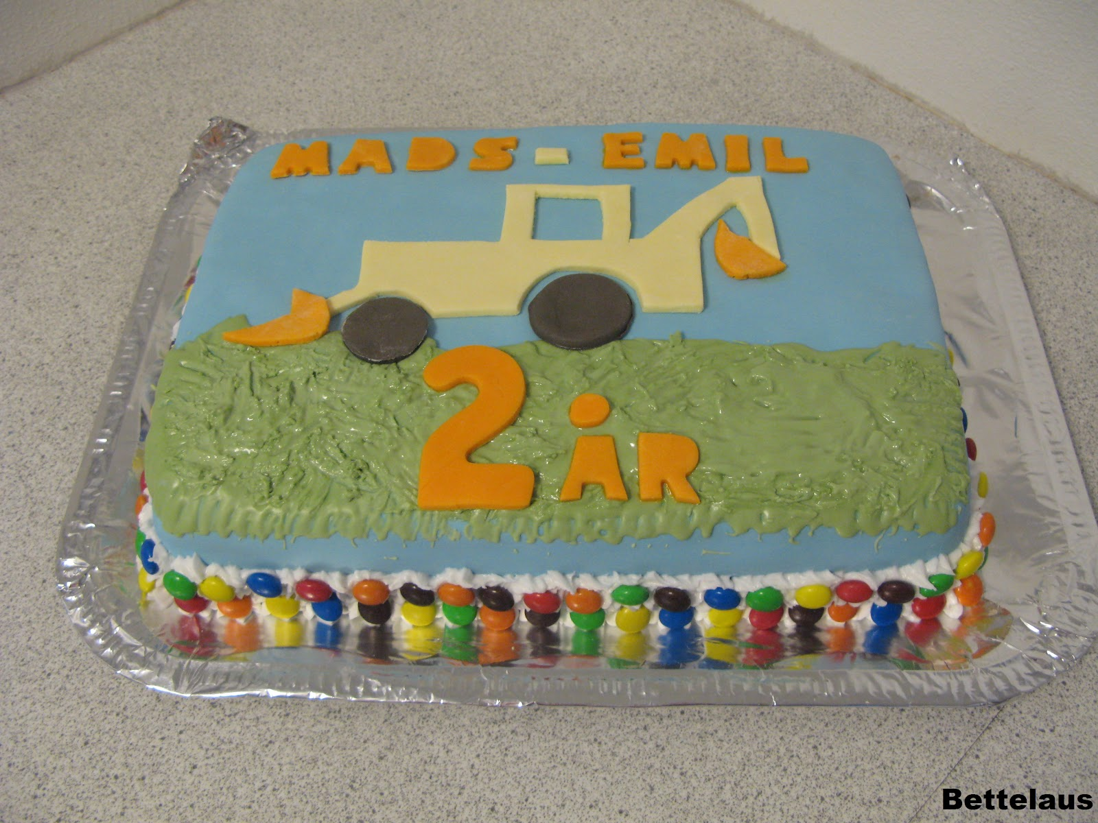 Fødselsdagskage 2 år