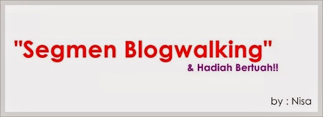 Segmen Blogwalking + Hadiah Bertuah, instant shawl magic