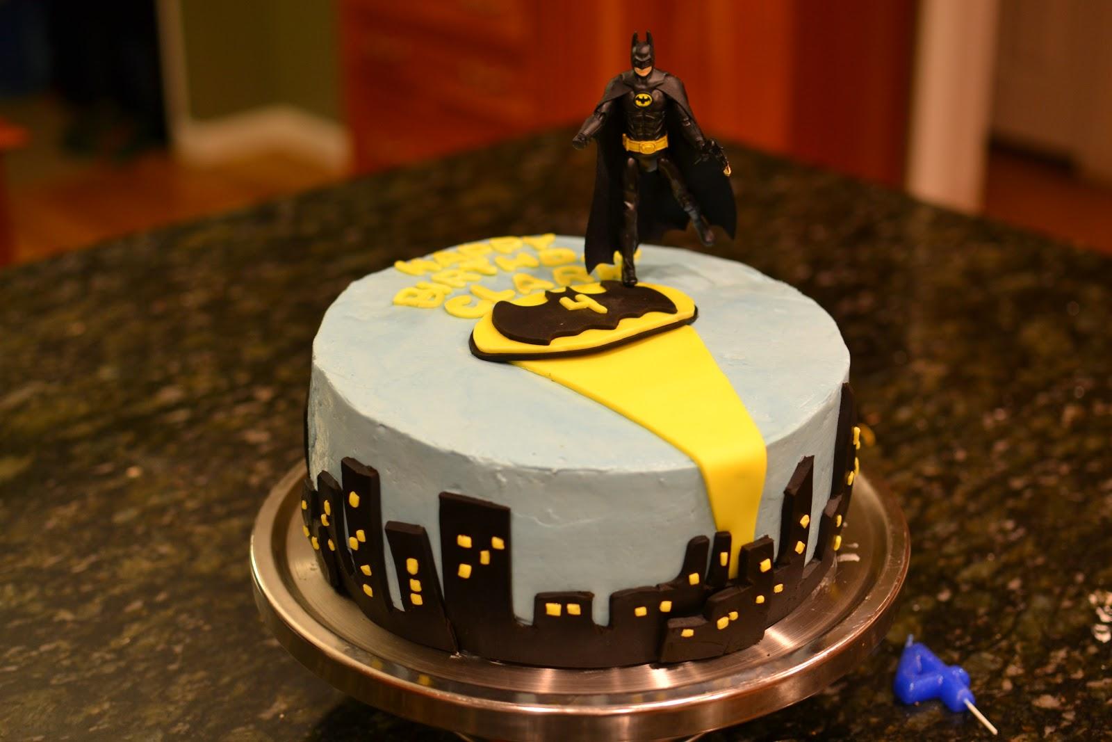 Kitchen Bliss Batman Birthday Cake And Diy No Sew Super Hero Capes
