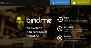Bindme, la red social para conocer nuevos amigos