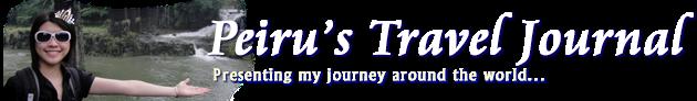 Peiru - Travel Journal