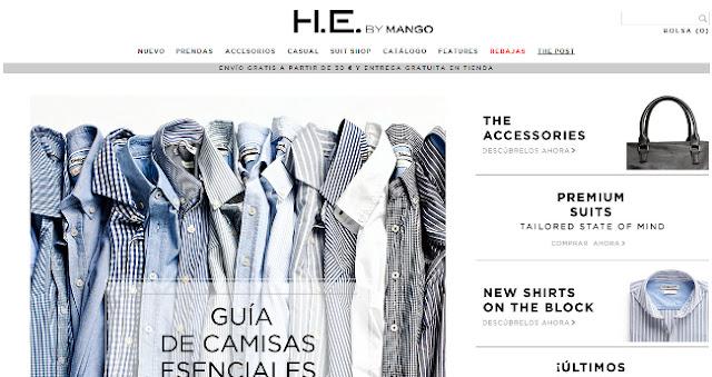 nueva tienda online en mango