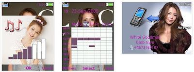 李毓芬SonyEricsson手機主題for Elm/Hazel/Yari/W20﹝240x320﹞