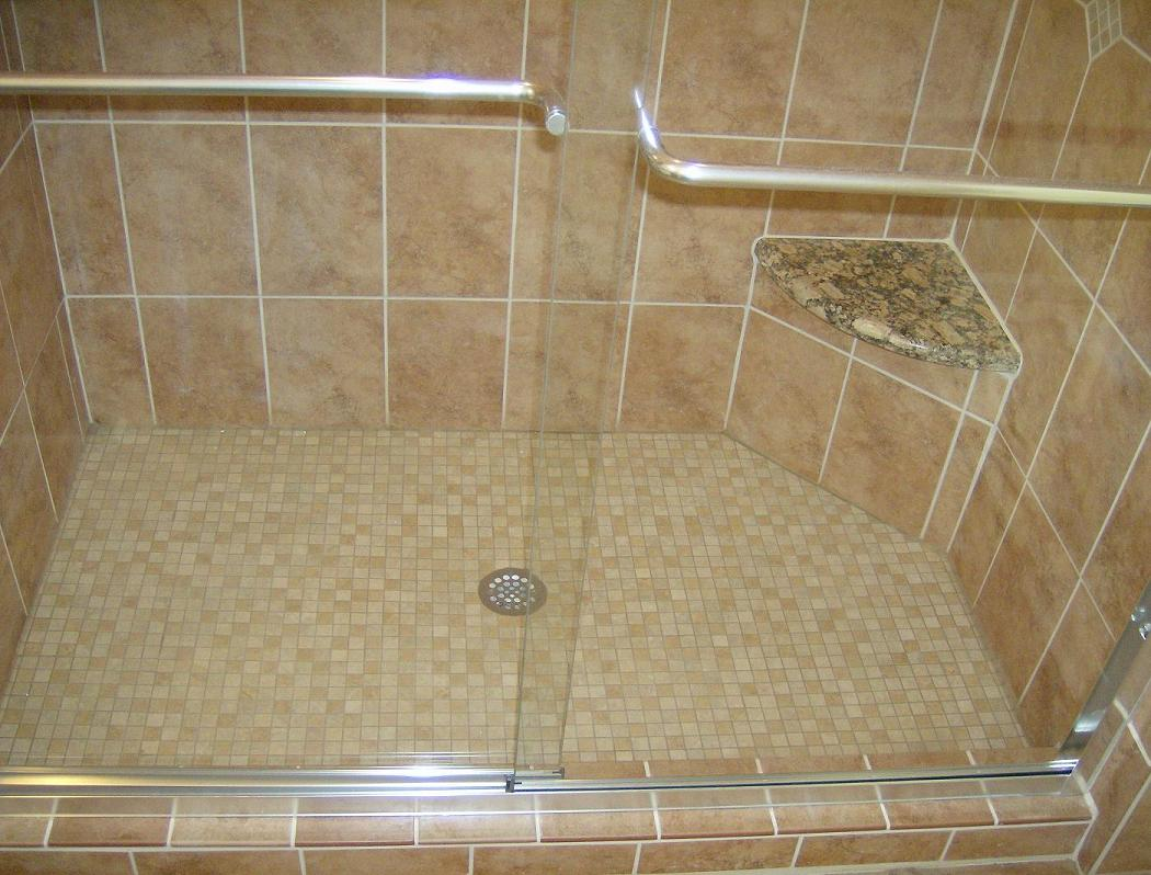 Fiberglass Shower Pan