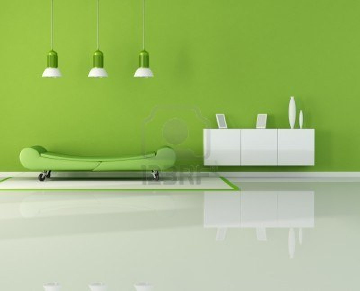 Warna Cat Ruang Tamu Hijau: Ciptakan Kesan Alami Bersama Ruang Tamu ...