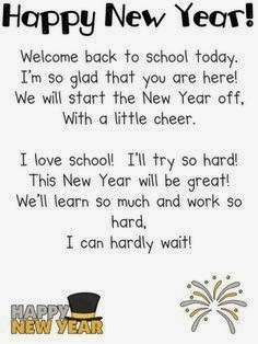 Meaning Happy New Year Poems For Teachers