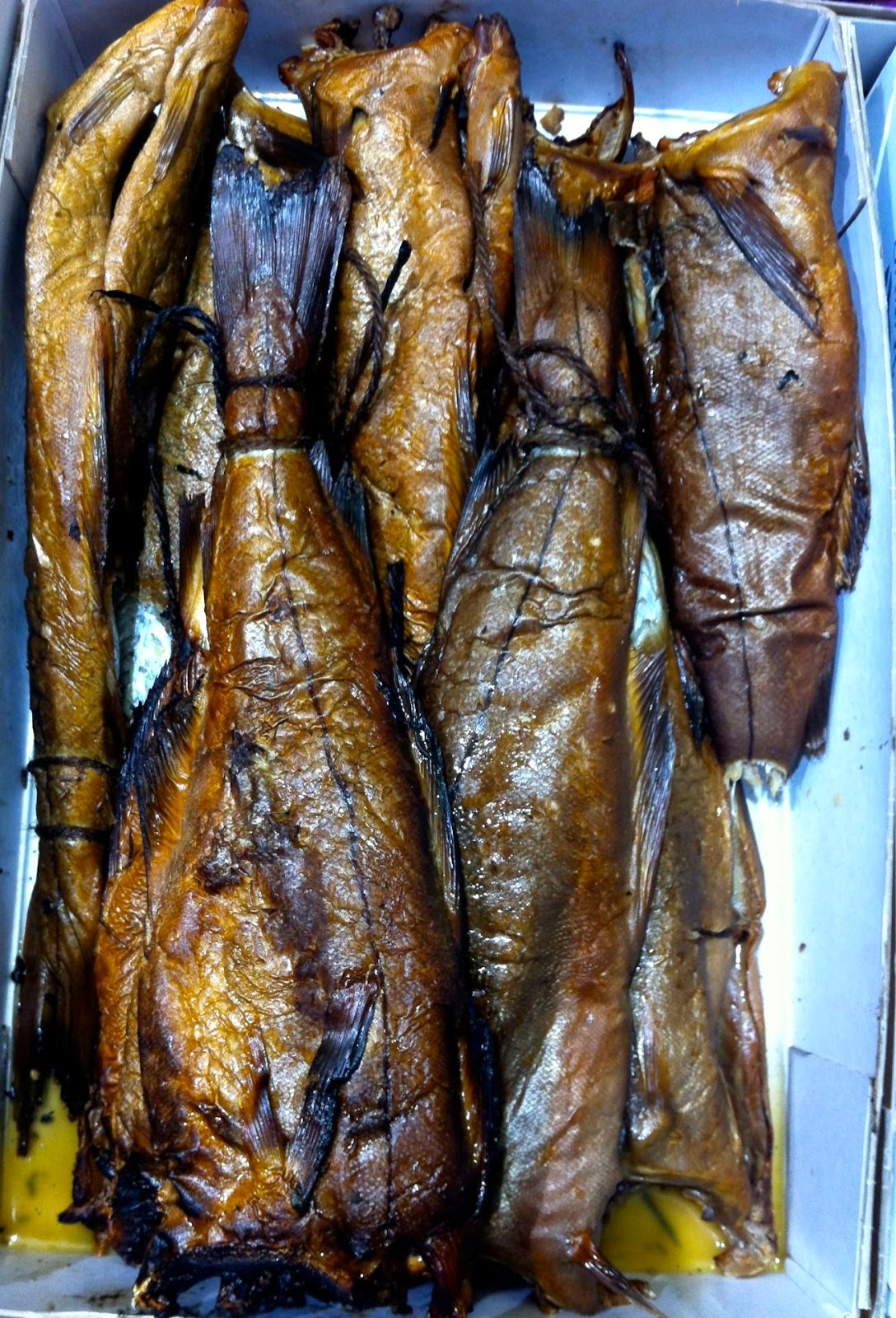 Abroath smokies, Billingsgate