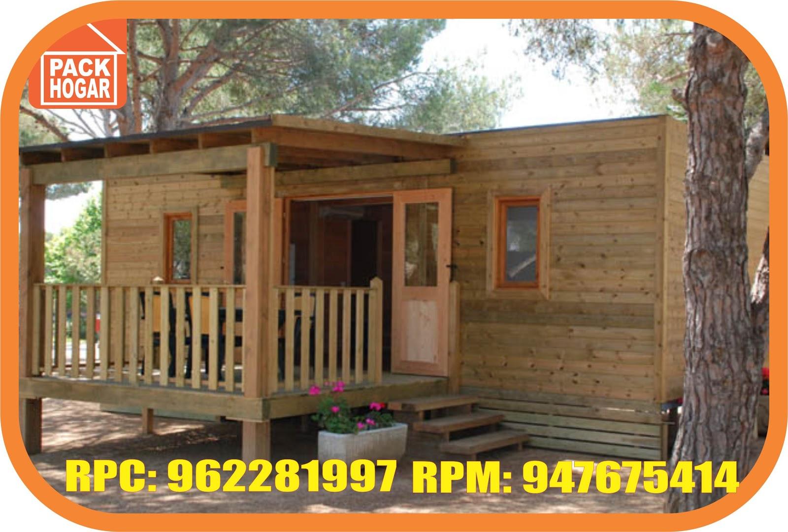 Peque as caba as de madera en lunahuana ca ete peru for Casas prefabricadas pequenas