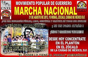 marcha 31 ago 2013
