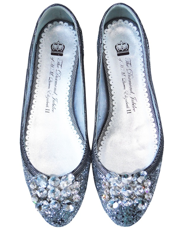 London Sole Diamond Jubilee Ballet Flats Collection The