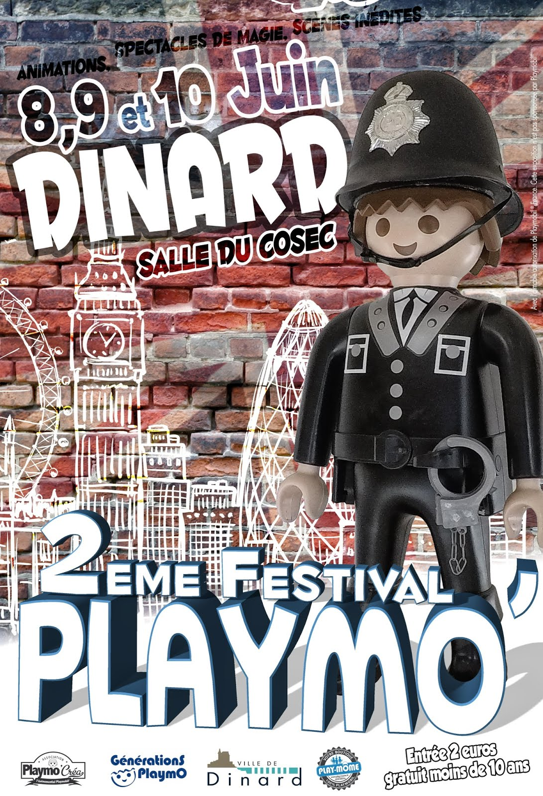 Salon du Playmobil de Dinard