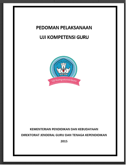 Download Bahan Materi Kisi Kisi Ukg 2015 Dan Contoh Soal Ukg 2015 Komplit Info Kepegawaian