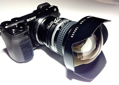 15mm f/3.5 on Sony NEX-7