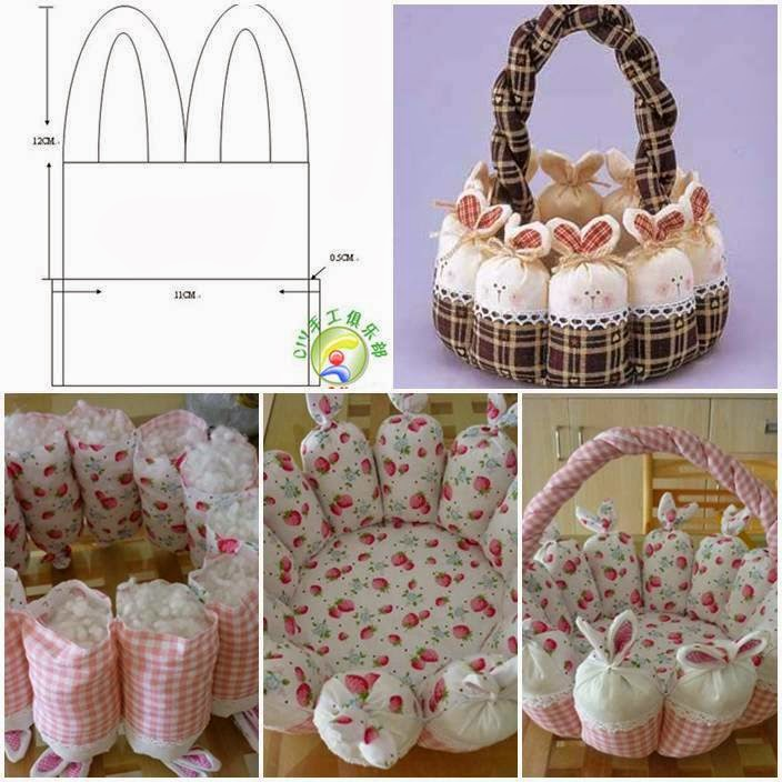Ideas Products Diy Cute Easter Bunny Basket
