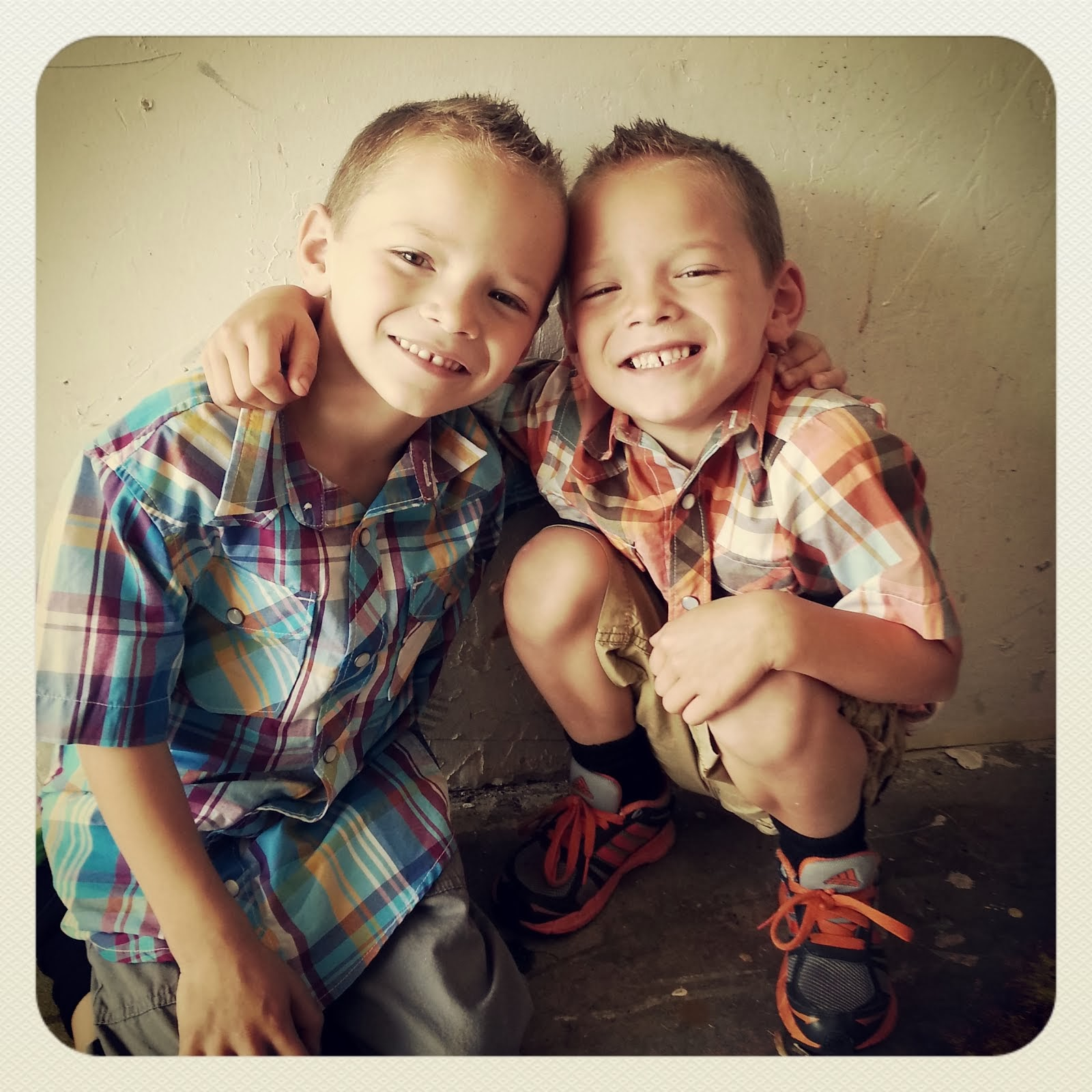 Dominic and Zaxen age 4