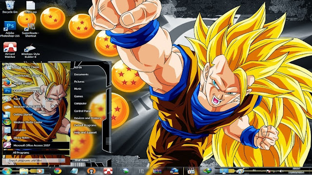 [ Theme Win 7 ] Dragon Ball Z 1