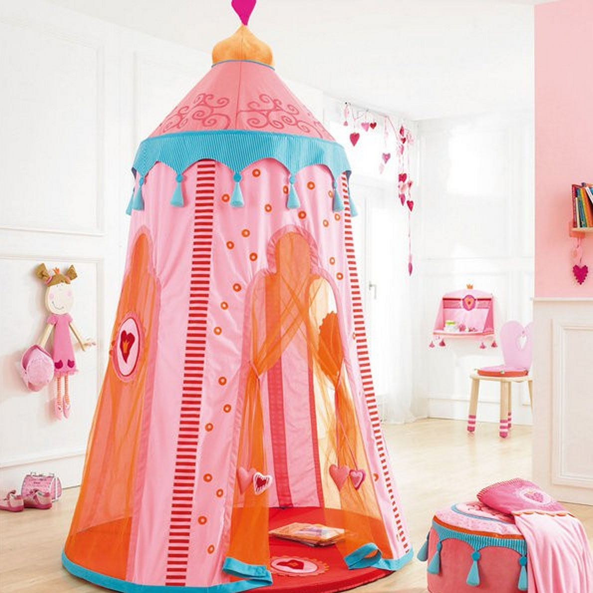 I love how whimsical and colorful this play tent is. The turquoise tassels and orange mesh netting are just icing on the ...  sc 1 st  Kandeeland & Kandeeland: 7 Of The Coolest Play Tents