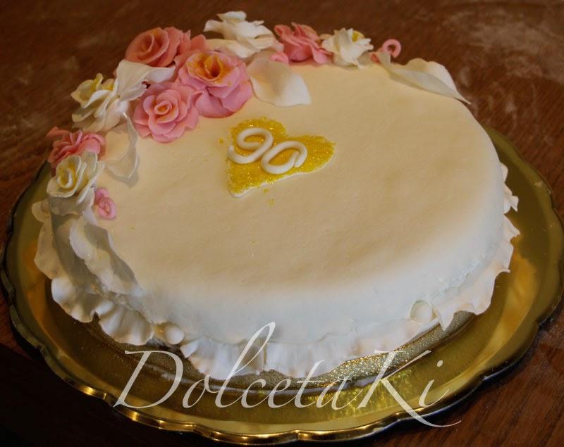 torta 90 anni