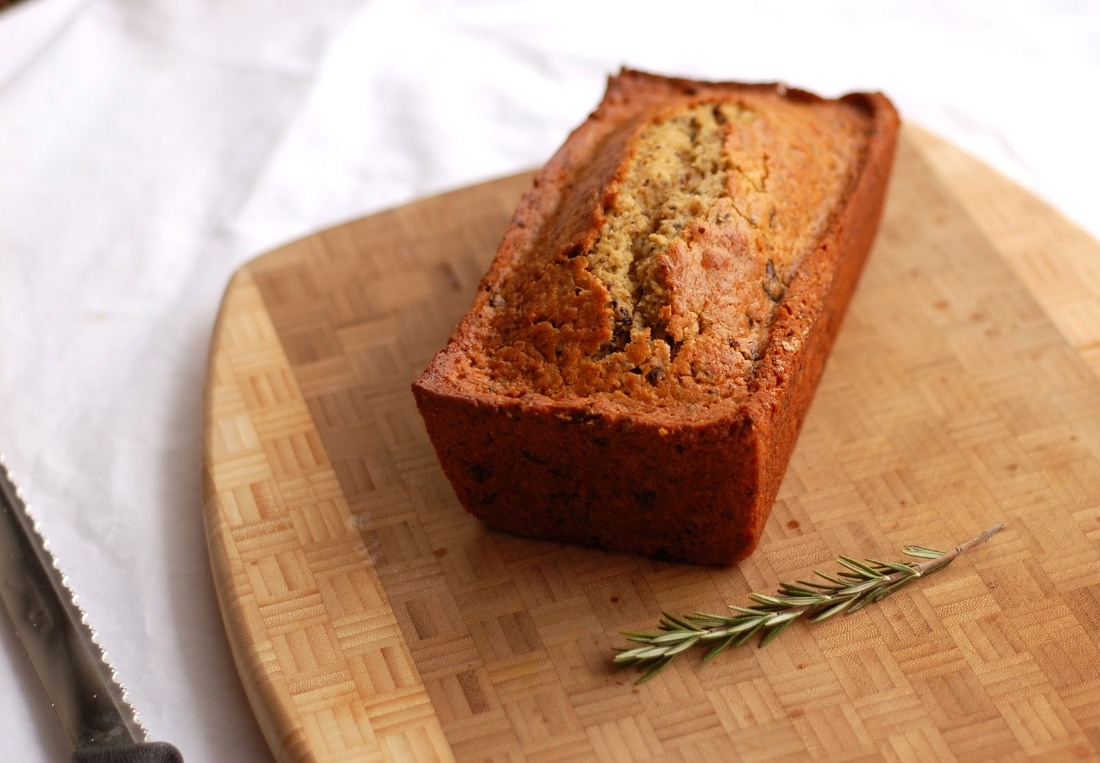 Tri to Cook: Rosemary Olive Oil Cake