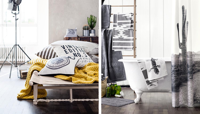 Decoraci n f cil coleccion textil h m 2014 para el hogar - Decoracion textil hogar ...