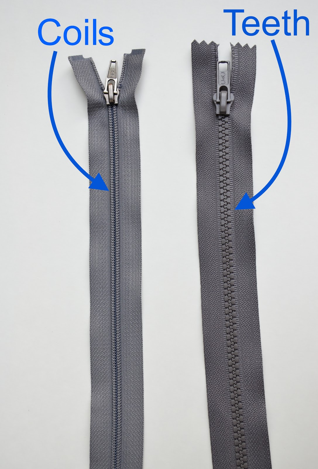 What can make a zipper run smoothly?