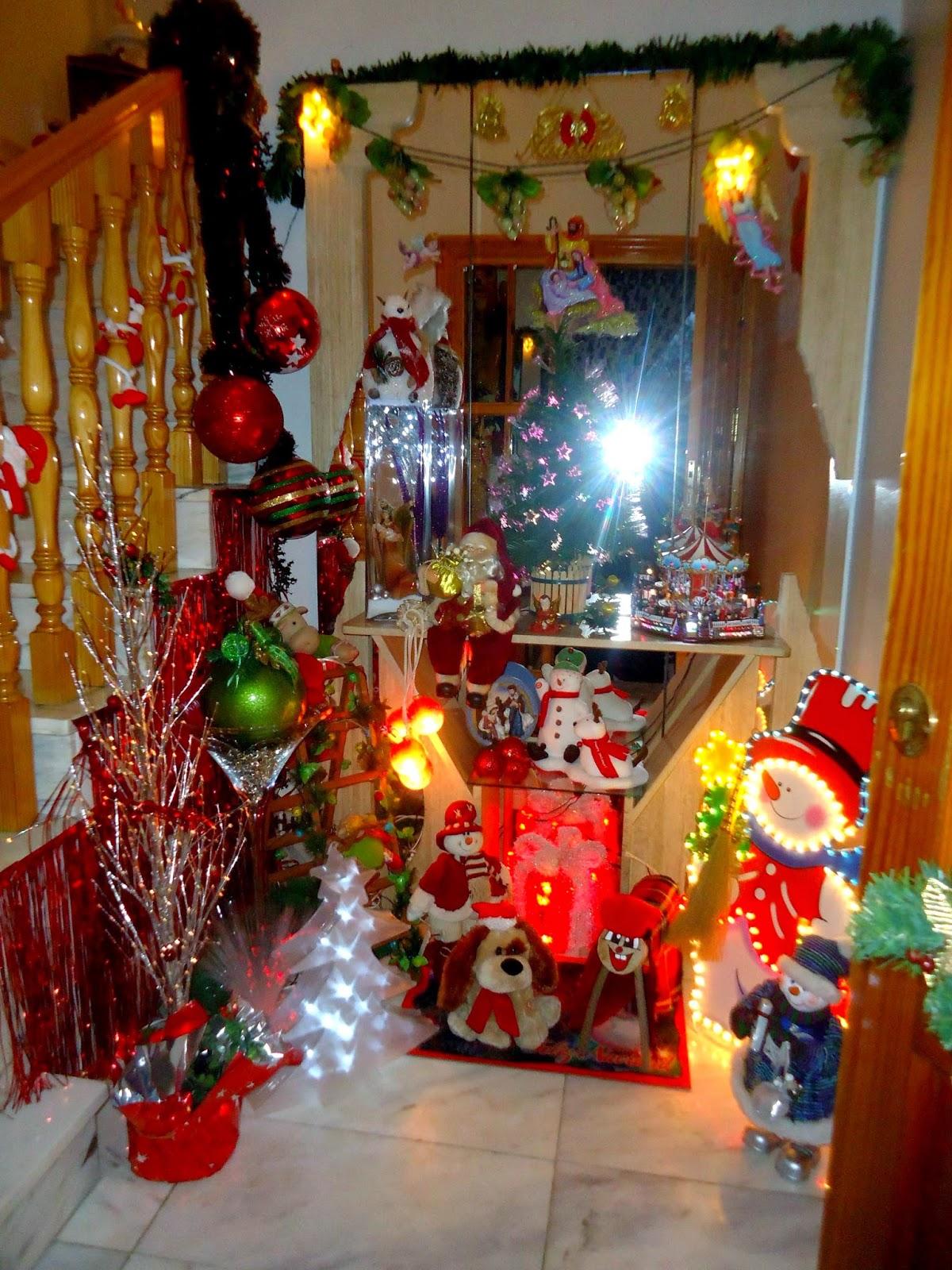 Centro de estudios borjanos decoraci n navide a en una casa de magall n - Decoracion navidena de casas ...