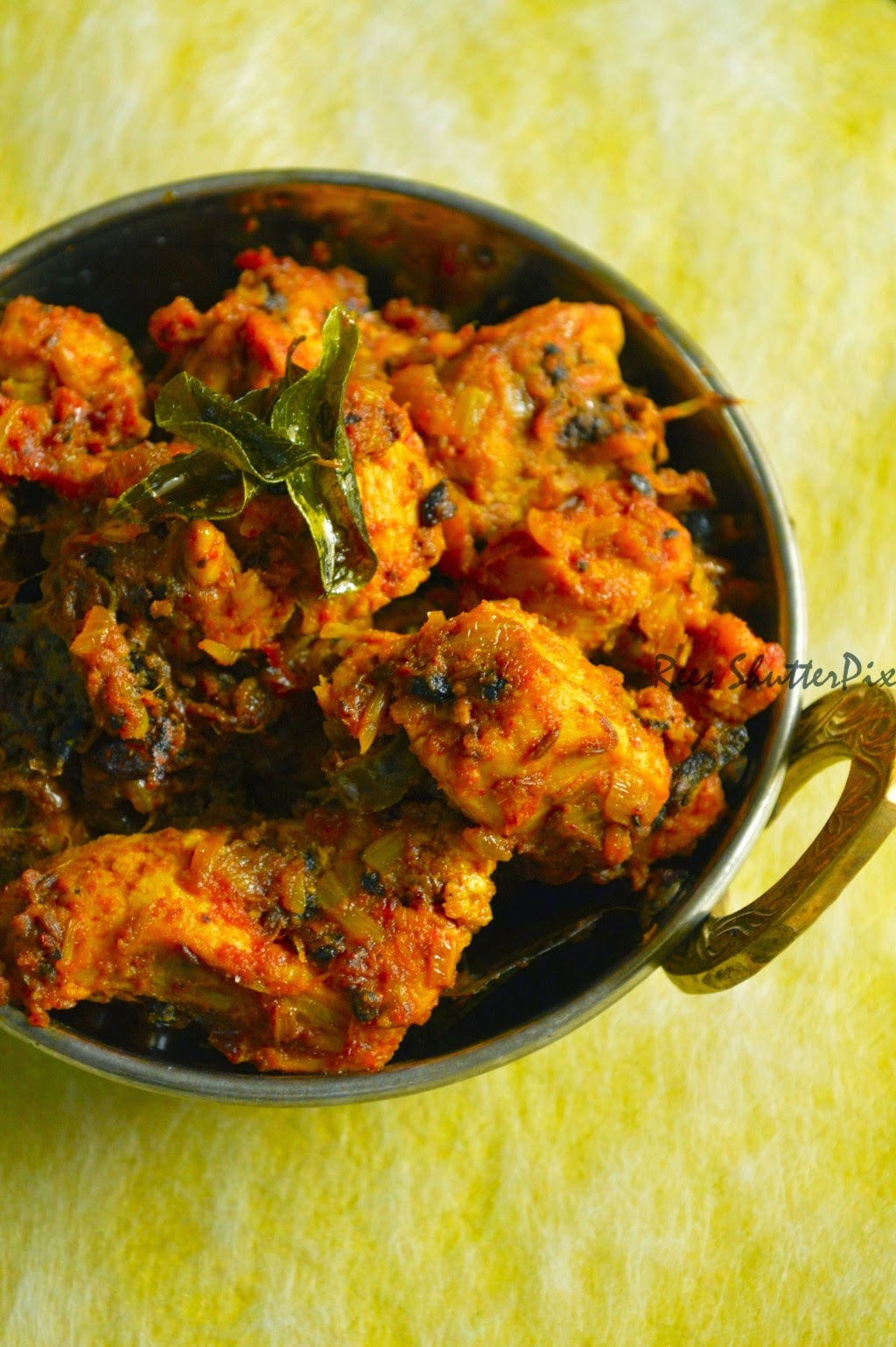 Chicken Starter Recipes, how to make pepper chicken chettinad with step by step pictures, chettinad pepper chicken recipe, easy chicken recipes, spicy chettinad chicken