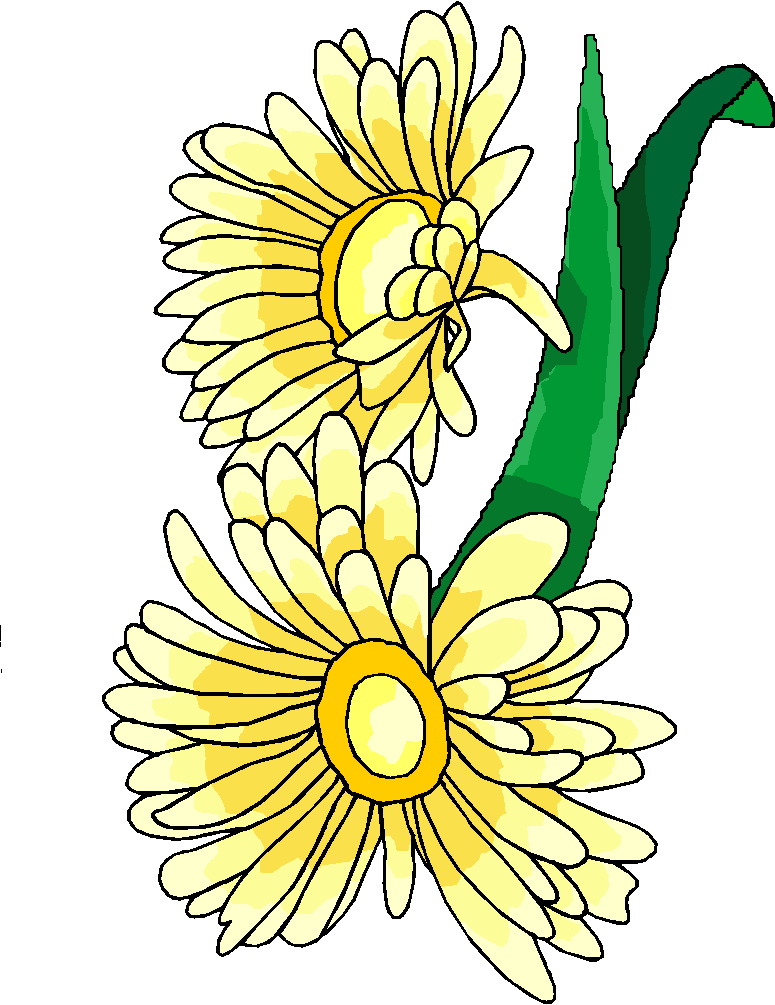 Yellow Sunflower Free Clipart