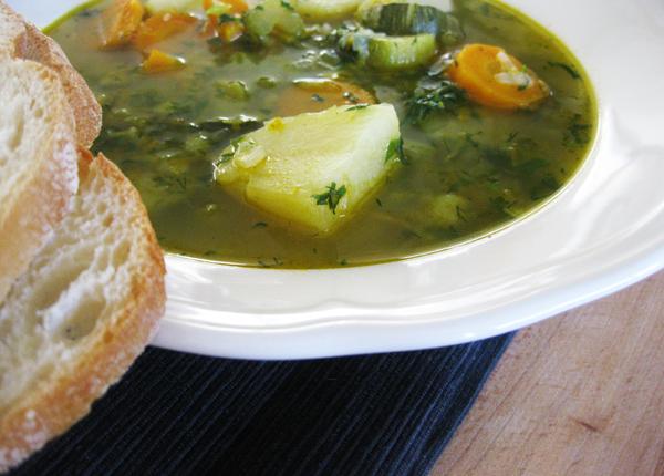 מתכון למרק ירקות חורפי