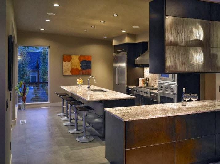 Fachada moderna de casa de campo dise o de interiores y for Cocinas de casas de campo