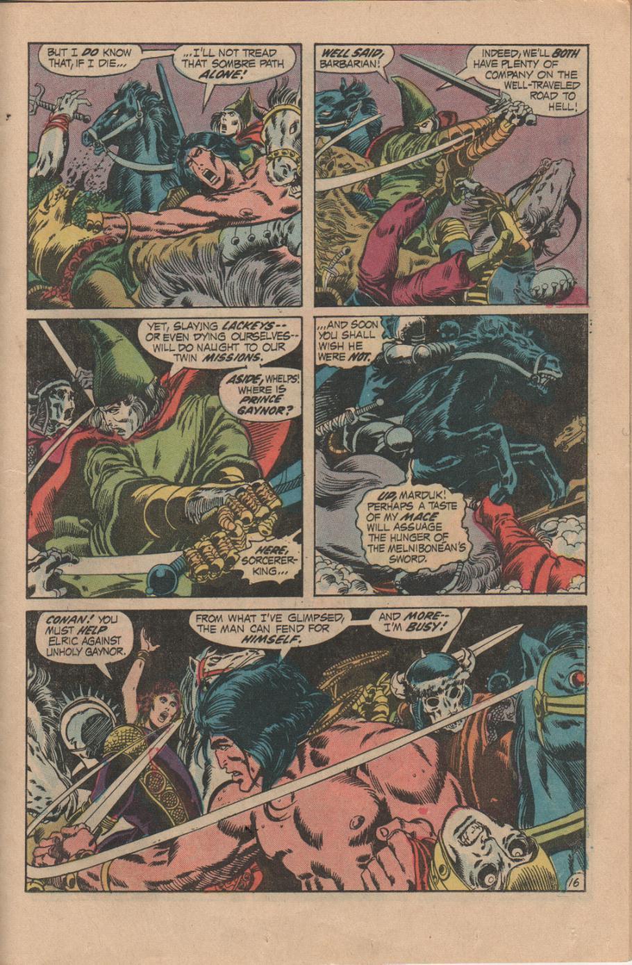 Conan the Barbarian (1970) Issue #14 #26 - English 17