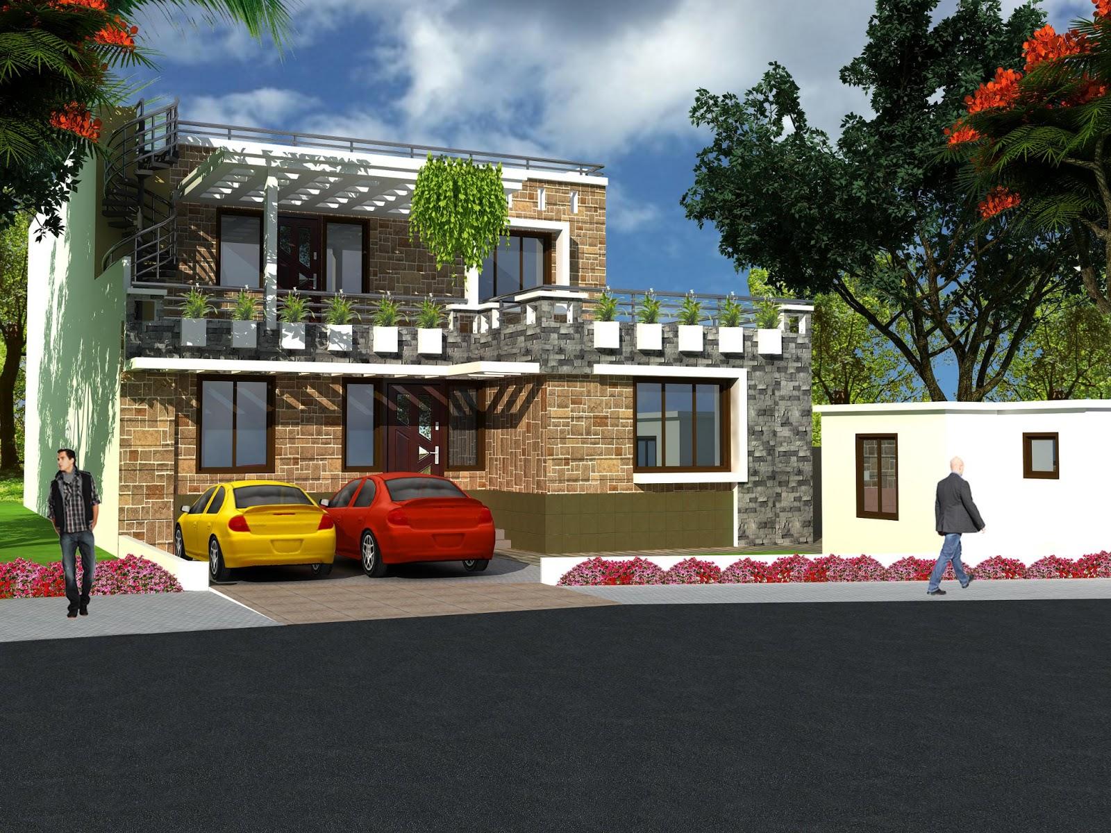 Apna ghar elevation joy studio design gallery best design for Ghar plans design