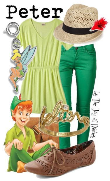 Peter Pan Costume, Disney Fashion